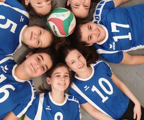U13-Mädchen auf dem Weg zur Landesmeisterschaft