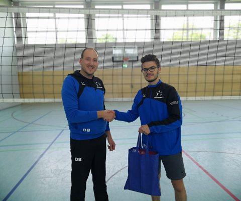 Nachwuchs im Trainerteam der Volleyballabteilung