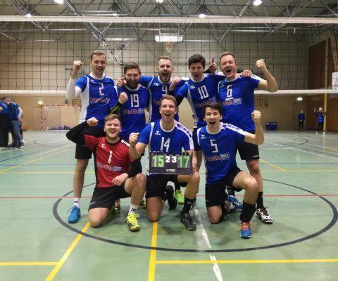 Oberliga-Männer siegreich – U15-Teams sammeln Erfahrungen